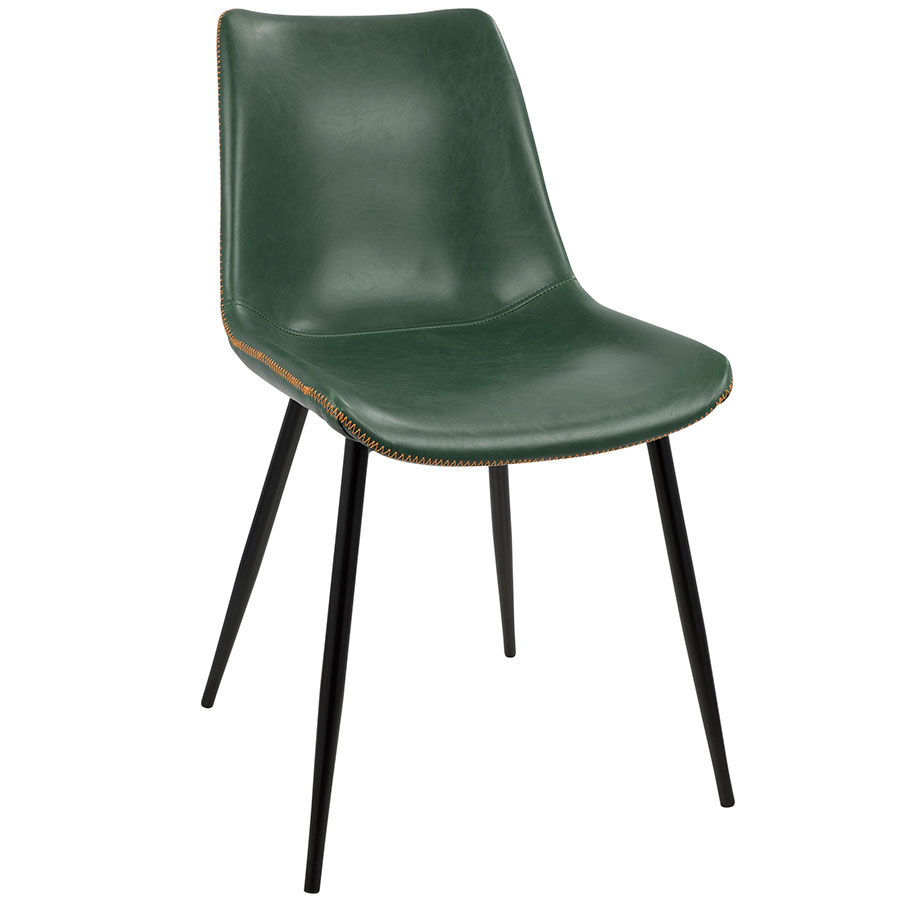 Contemporary Modern Dining Chairs: Donovan Green Dining Chair