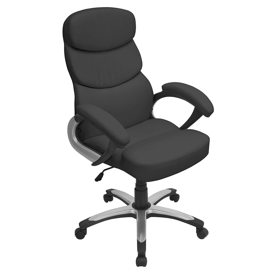 Dorsten Black Modern Office Chair