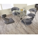 Euro Style Draco Side Chairs + Hydra Dining Table