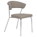 Euro Style Draco Modern Dining Chair in Taupe