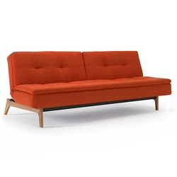 Dublexo Eik Sleeper in Paprika + Oak by Innovation Living