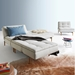 Dublexo Modern Sleeper Sofa and Chairs in Natural