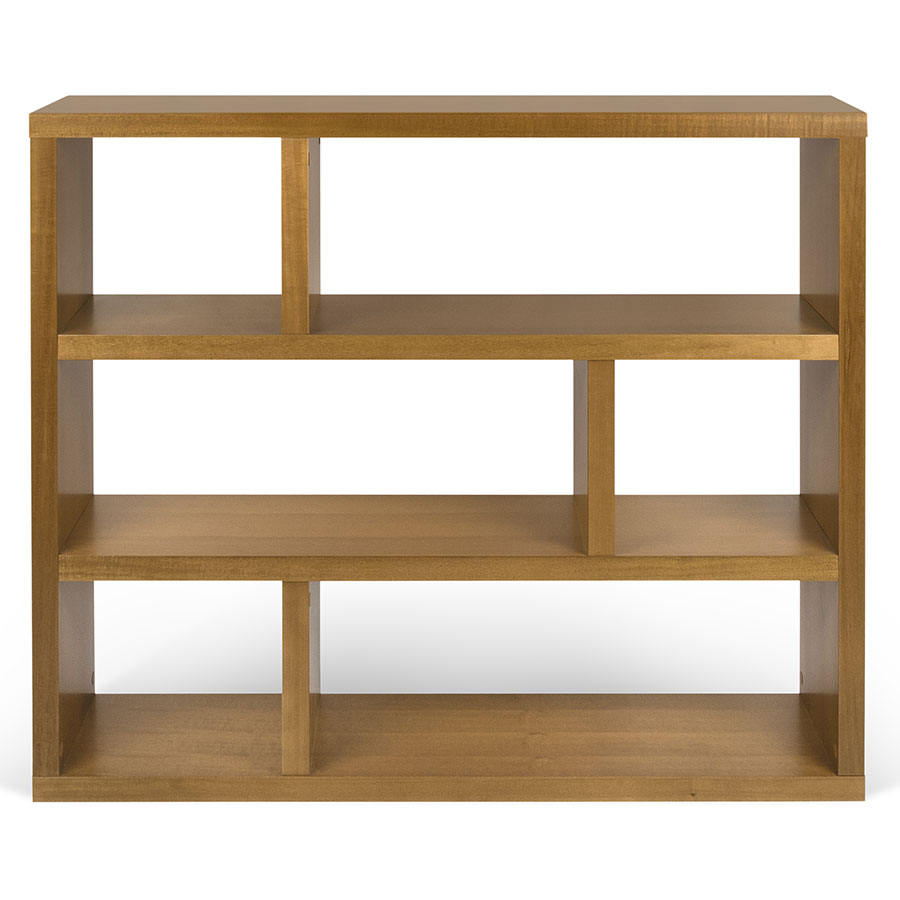 Dublin Mukali Low Contemporary Bookcase