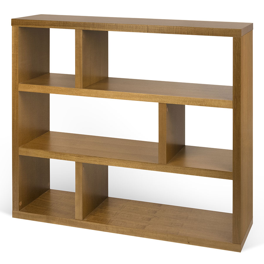 Dublin Mukali Low Modern Bookcase