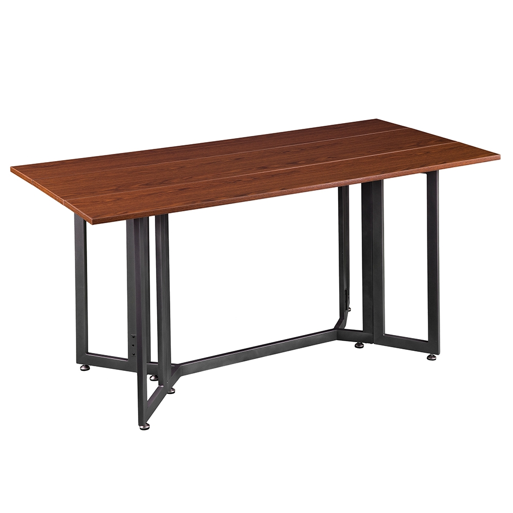 Duncan Tobacco Drop Leaf Dining Console Table Eurway