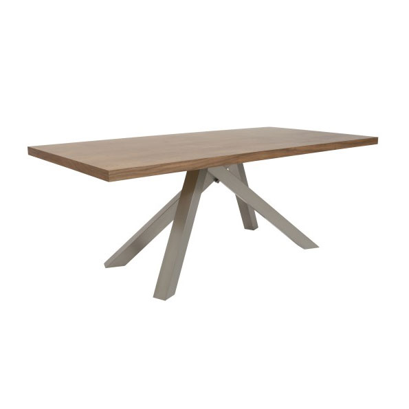 Dunkirk Modern Walnut Dining Table