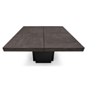 "Dusk 59"" Concrete Top Square Modern Dining + Work Table by TemaHome"