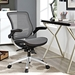 Ede Contemporary Gray Mesh Office Chair