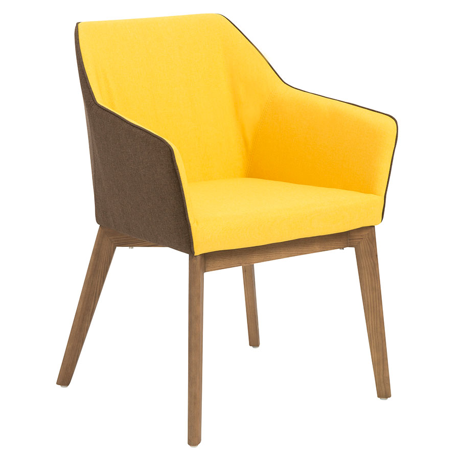yellow dining chairs modern yellow dining arm chair eurway modern 11663
