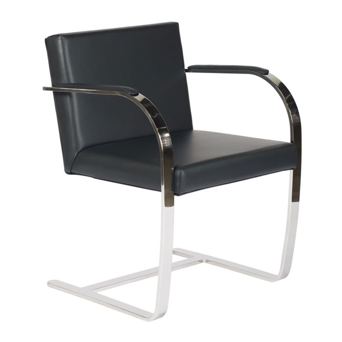 Call To Order · Edison Black Classic Modern Armchair