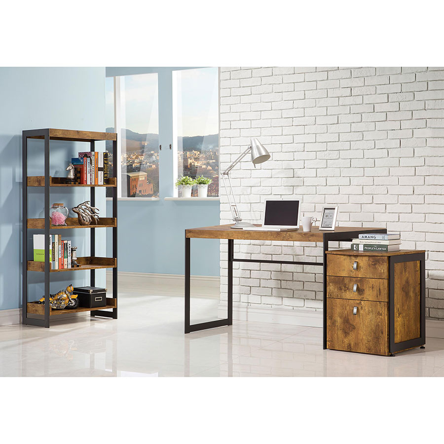 File Cabinet Edwin Rustic Modern Office Collection