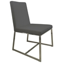 Egbert Contemporary Graphite Dining Chair