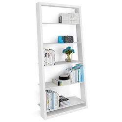 Eileen White Leaning Shelf by BDI