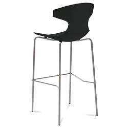 Eko Black Modern Bar Stool