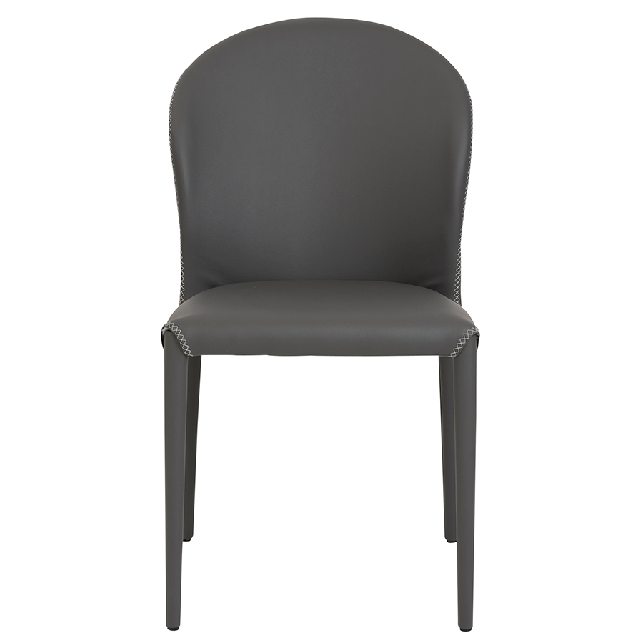 ... Elain Gray Contemporary Side Chair ...