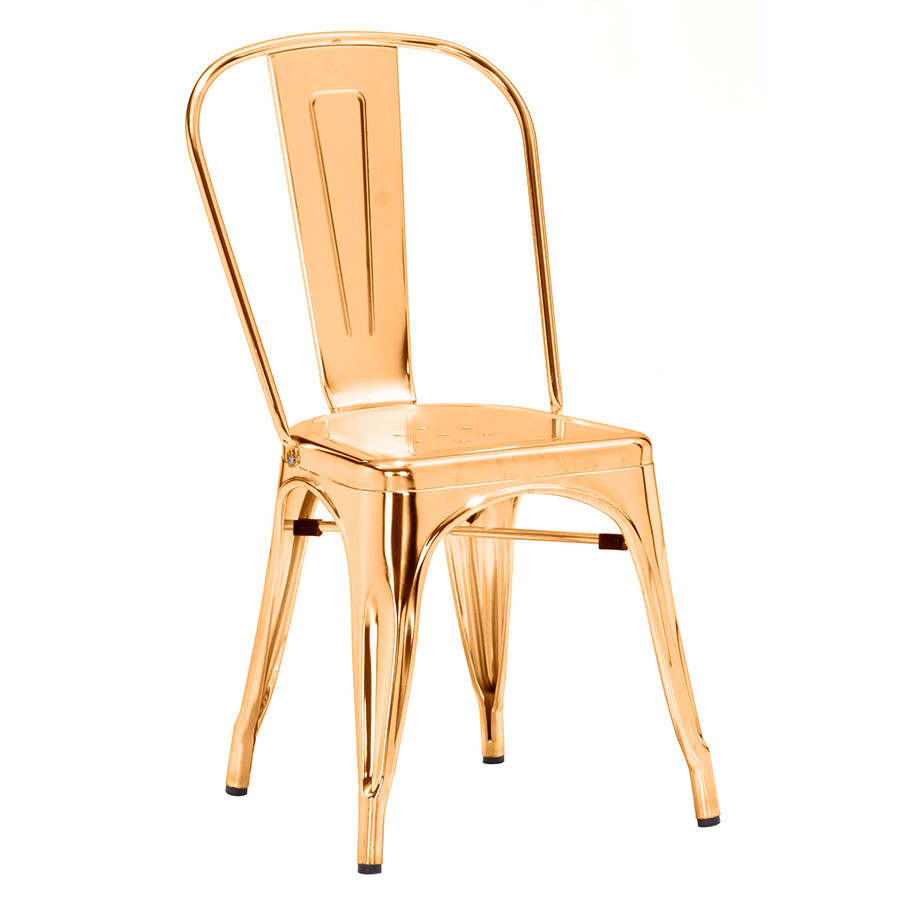 Elea Gold Modern Dining Chair