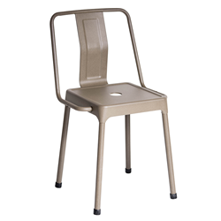 Elian Cappuccino Modern Side Chair