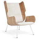 Elk Contemporary Lounge Chair in Huron Ivory by Gus* Modern