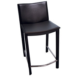 Ellis Modern Counter Stool in Black