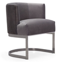 Ellwood Modern Accent Chair in Gray
