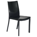 Emily Modern Dining Chair in Black
