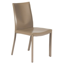 Emily Modern Dining Chair in Cappuccino