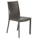 Emily Modern Dining Chair in Grey