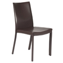 Emily Modern Dining Chair in Wenge