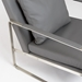 Emmett Gray Contemporary Lounge Chair Detail