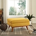 Empire Contemporary Citrus Fabric Ottoman