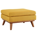 Empire Modern Citrus Fabric Ottoman