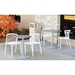 Enigma Outdoor Chairs and Enclave Tables