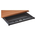 Endeavor Black Plastic Under Desk Pencil Drawer