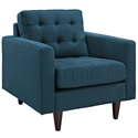Enfield Azure Modern Lounge Chair