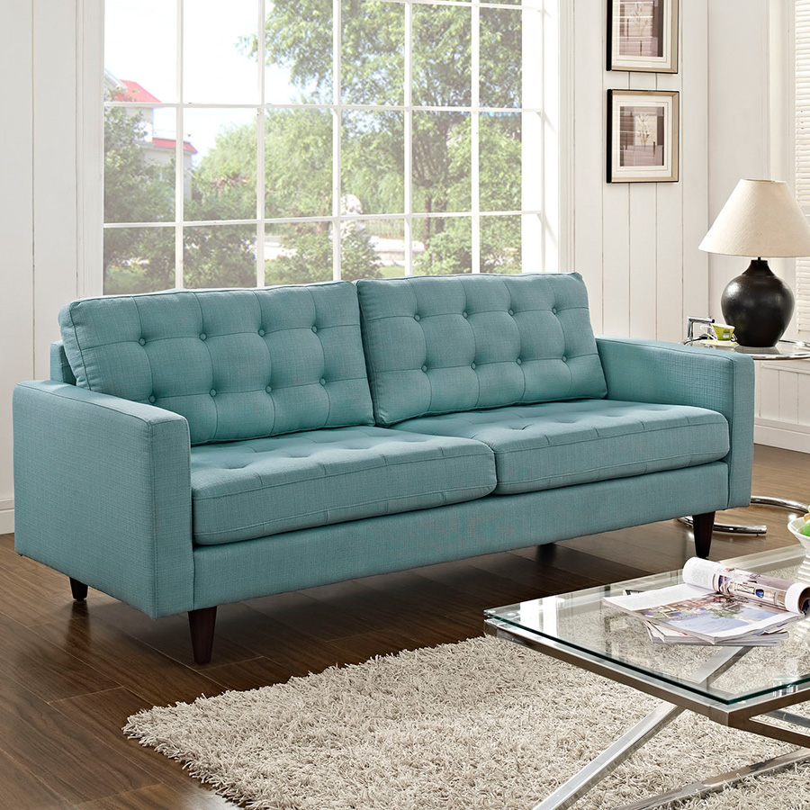 Light blue sofas green leather sofa plus bonded as well for Light green sectional sofa
