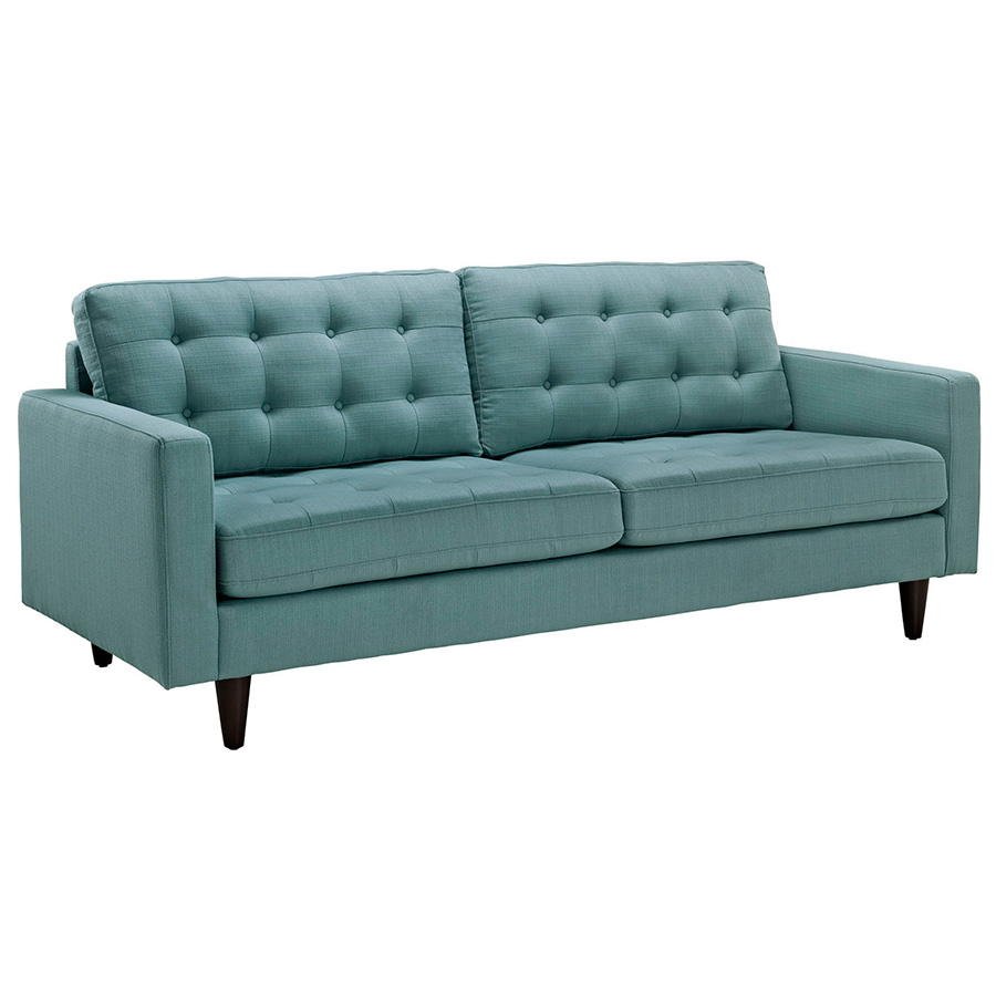 Modern Sofas | Enfield Light Blue Sofa | Eurway Modern