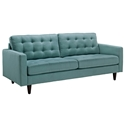 Enfield Modern Light Blue Sofa