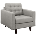 Enfield Light Gray Modern Lounge Chair