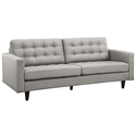 Enfield Modern Light Gray Sofa