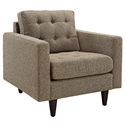 Enfield Oatmeal Modern Lounge Chair