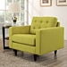 Enfield Wheatgrass Contemporary Lounge Chair