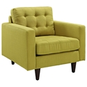 Enfield Wheatgrass Modern Lounge Chair
