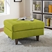 Enfield Wheatgrass Contemporary Ottoman