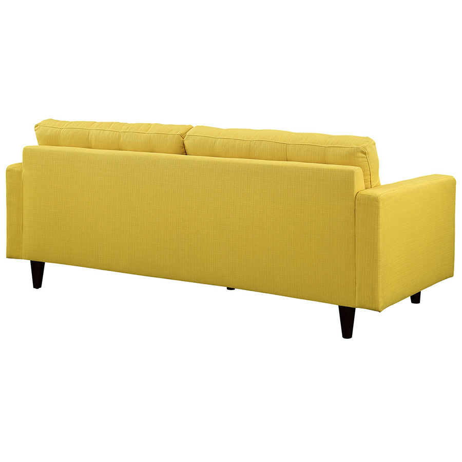 Leather Sofa Repairs Enfield: Enfield Yellow Sofa