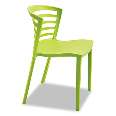 Enigma Modern Green Outdoor Dining Chair