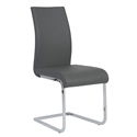 Eldad Gray Modern Side Chair