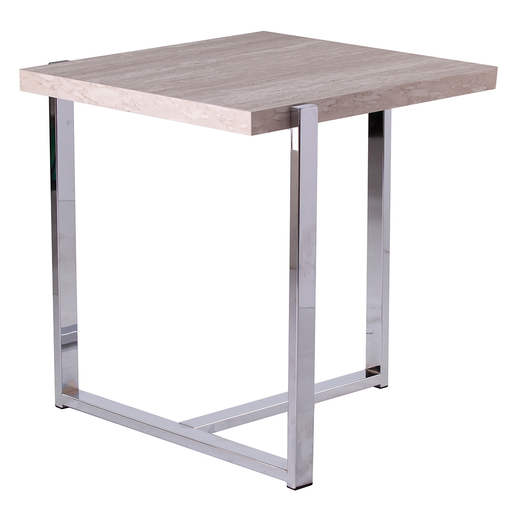 Call To Order · Equinox Modern Faux Stone Side Table