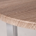 Escape Modern Weathered Dining Table - Top Detail