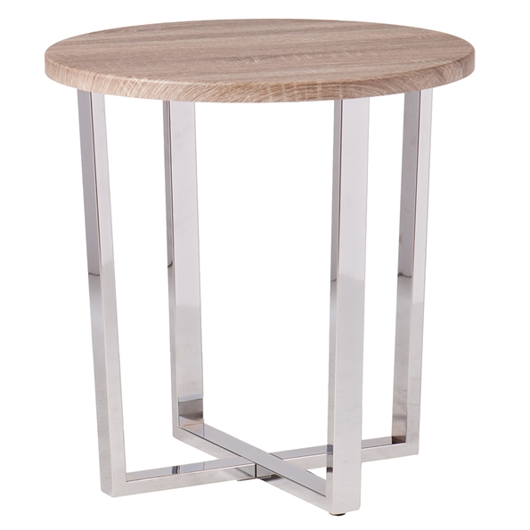 Escape Modern Weathered End Table