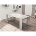 Estuary Faux Concrete Expandable Contemporary Console Table
